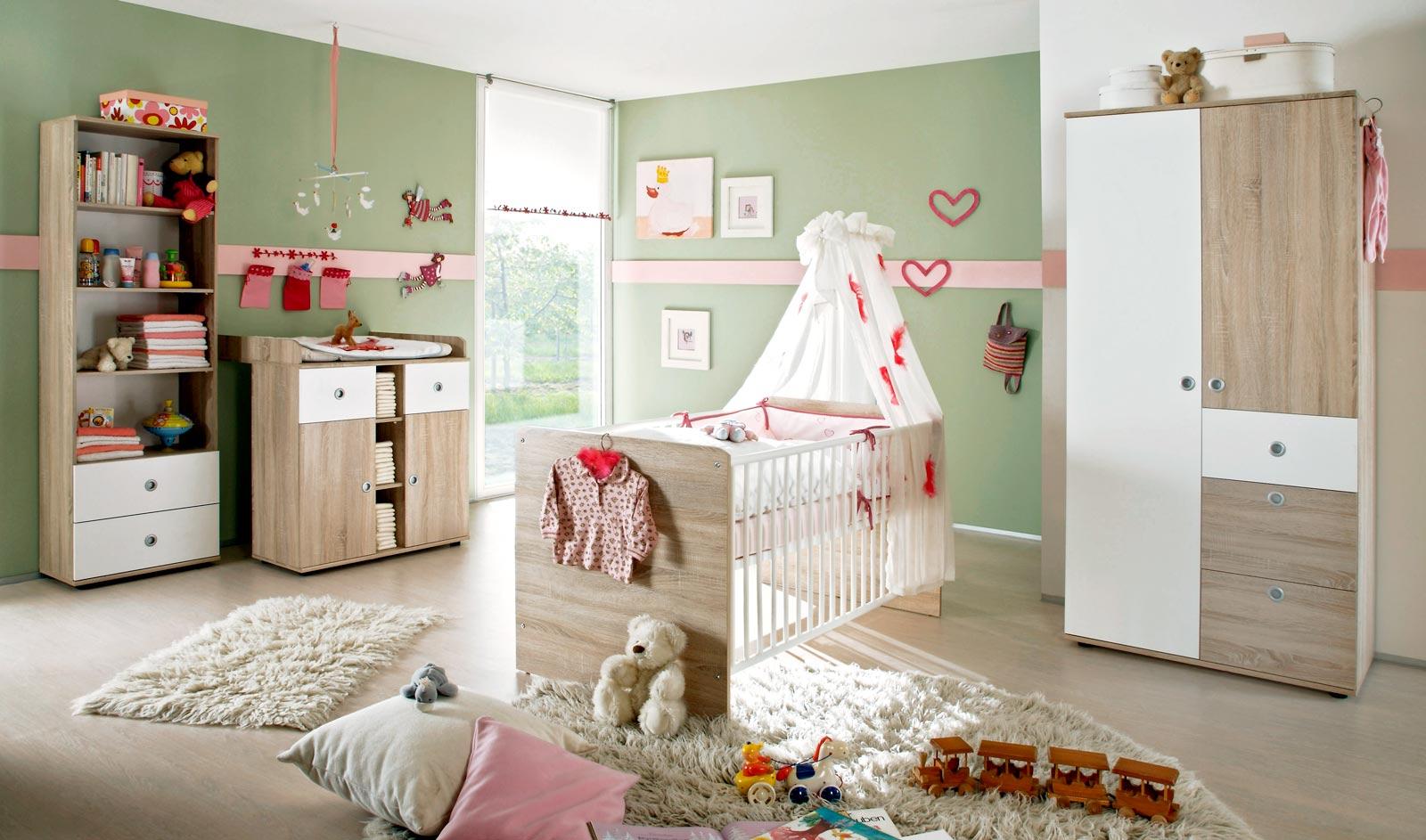 Babyzimmer kinderzimmer wiki 3 in eiche sonoma wei moebel dich - Jugendzimmer wiki ...