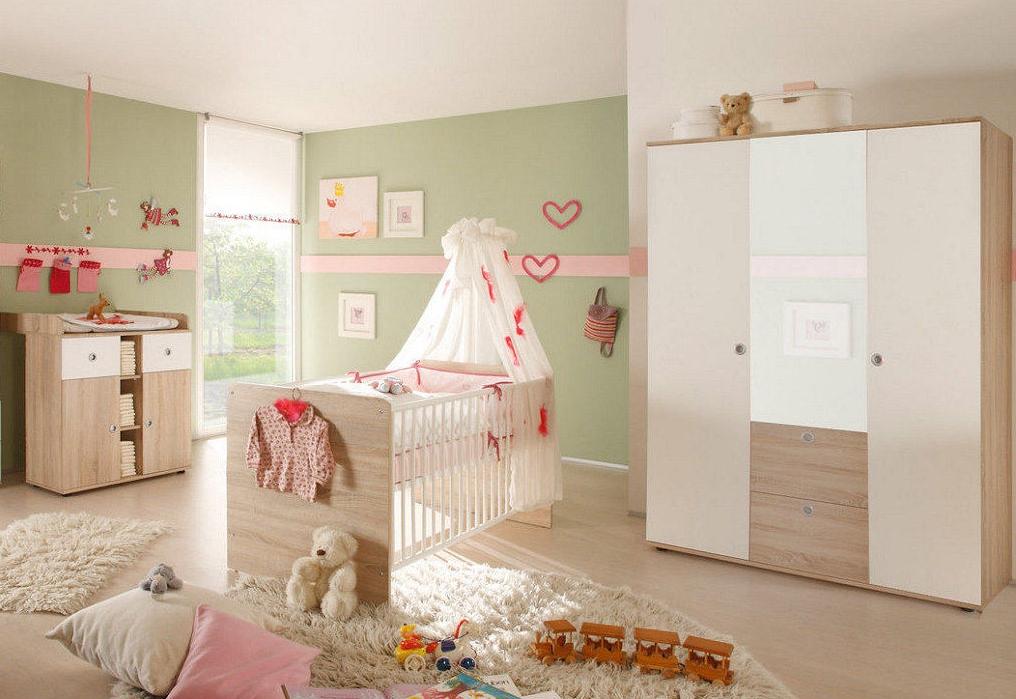 babyzimmer kinderzimmer wiki 5 in eiche sonoma wei