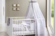 Babybett KIM in weiß