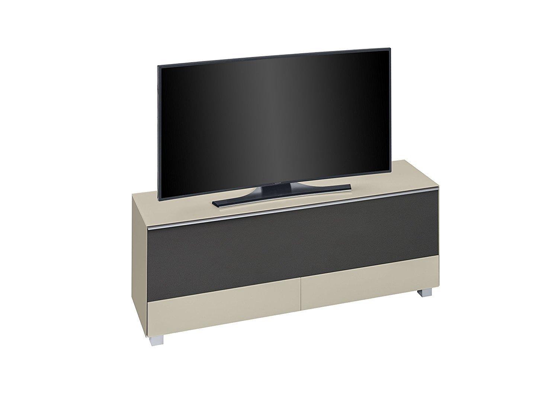 maja 7774 soundboard in glas sand matt 160 cm akustikstoff schwarz