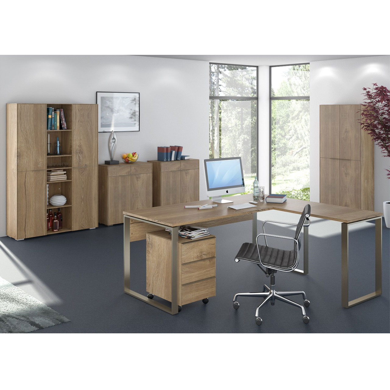 maja b ro yolo in riviera eiche typ 1 moebel dich. Black Bedroom Furniture Sets. Home Design Ideas