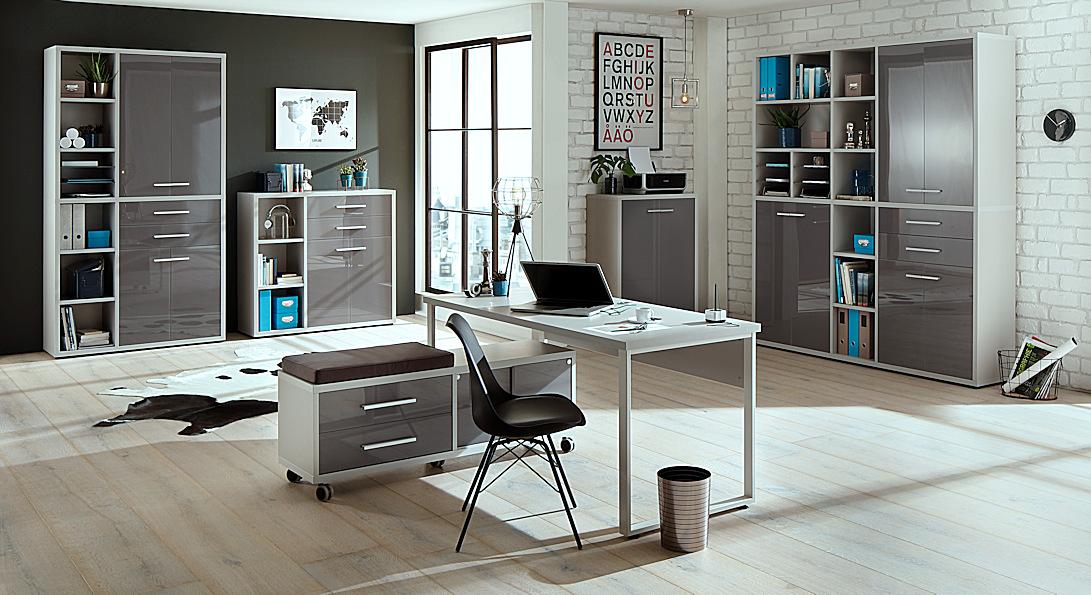 Arbeitszimmer Büromöbel Büro MAJA Möbel SET+ Set plus SET 10moebel ...