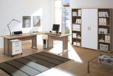 BEGA Möbel online kaufen ✓ Arbeitszimmer OFFICE LINE in Eiche Sonoma / weiß glanz