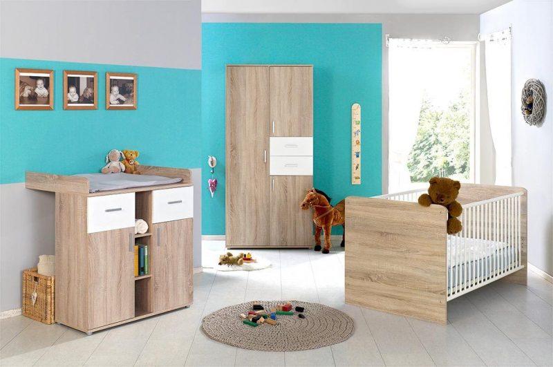 Babyzimmer ELISA 1 inkl. Umbauseiten