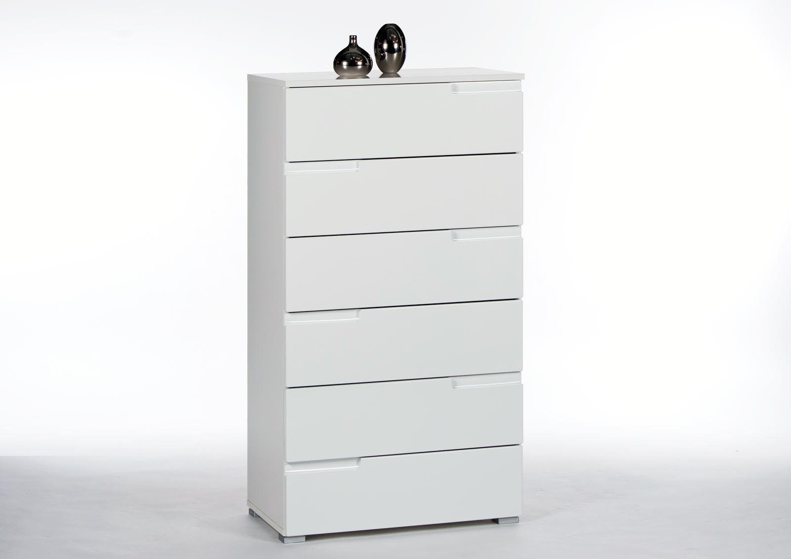 Liebenswert Schubladenkommode Galerie Von Spice 3 In Hochglanz Weiß