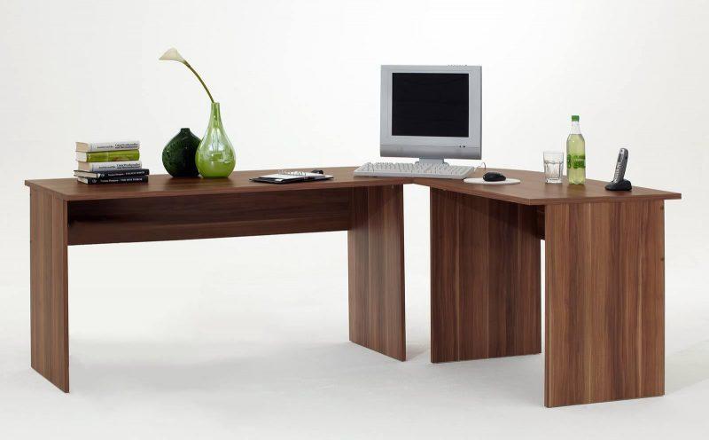 tisch schreibtisch winkelschreibtisch till in zwetschgemoebel dich. Black Bedroom Furniture Sets. Home Design Ideas